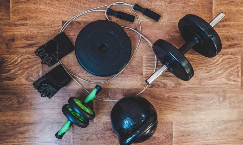 Le matériel utile pour un entrainement complet à la maison