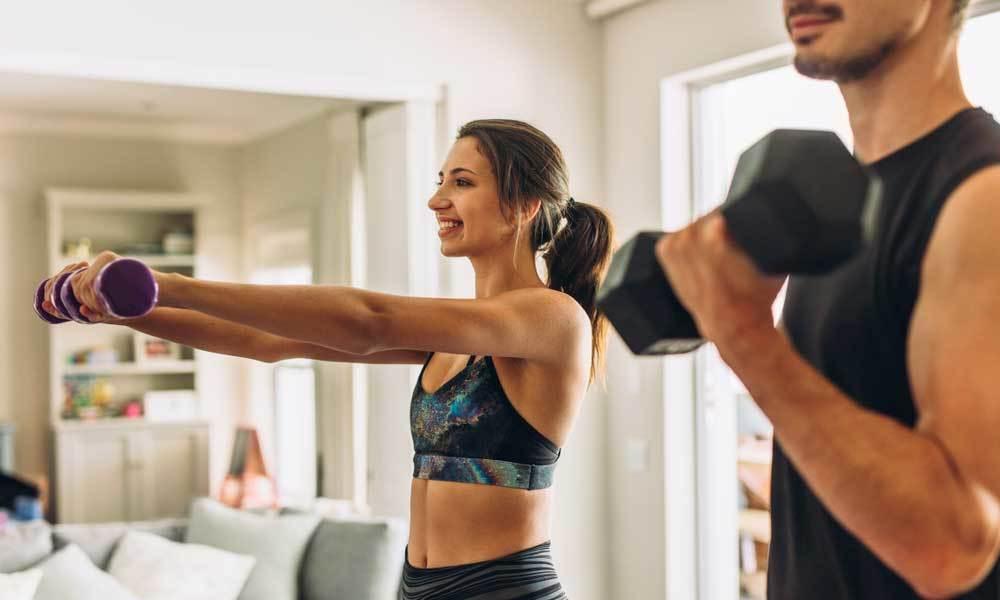 Programme de musculation à la maison (avec haltères)