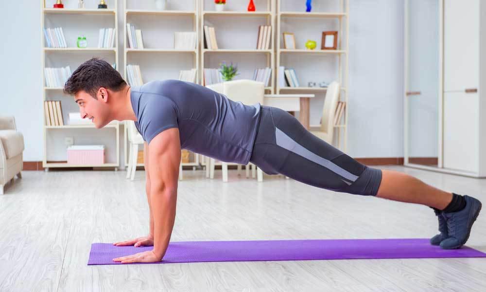 Exercices de musculation à la maison sans matériel (ou presque)