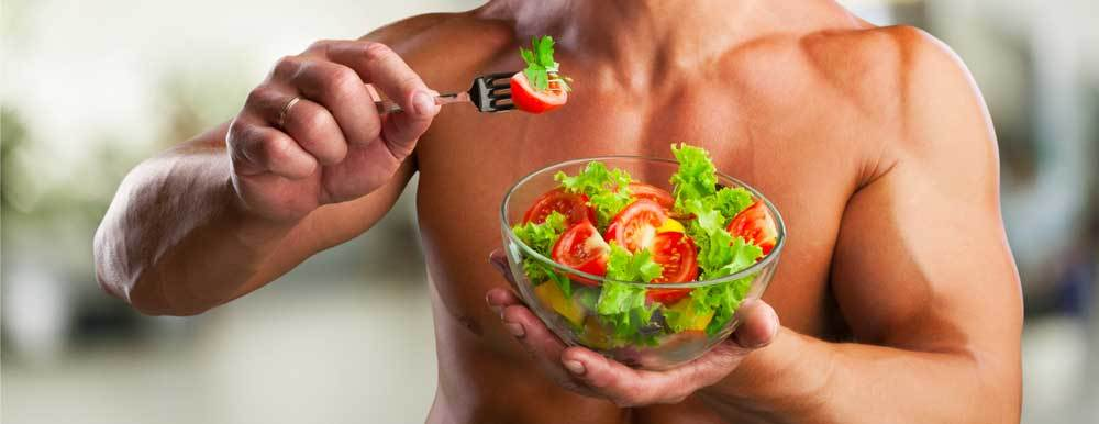 Musculation et végétarien