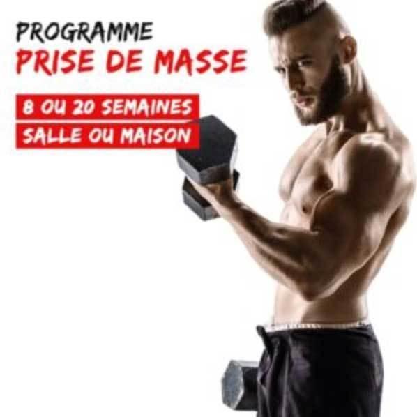 Programme All Musculation - Prise de masse HOMME