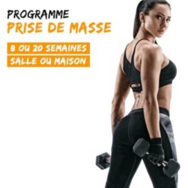 Programme All Musculation - Prise de masse FEMME
