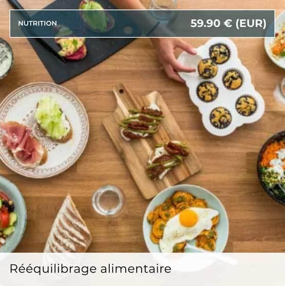 Lucile Woodwards - Rééquilibrage alimentaire