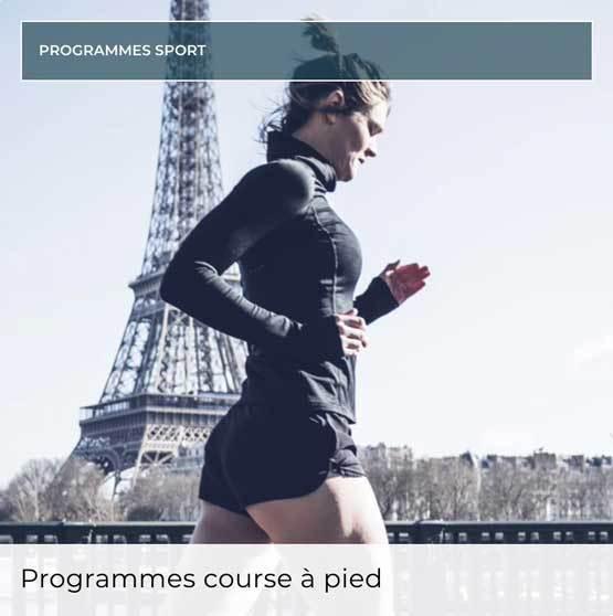 Lucile Woodwards - Programme course à pied