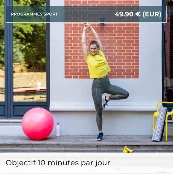 Lucile Woodwards - Objectif 10 minutes par jour